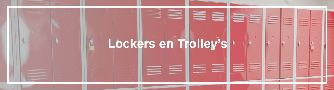 Lockers en troley